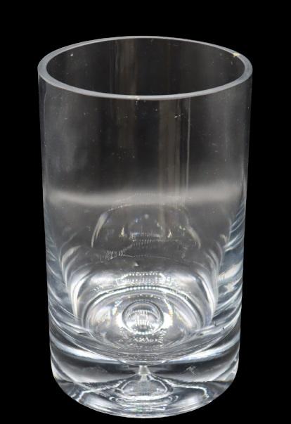 Large Steuben Single Crystal Vase