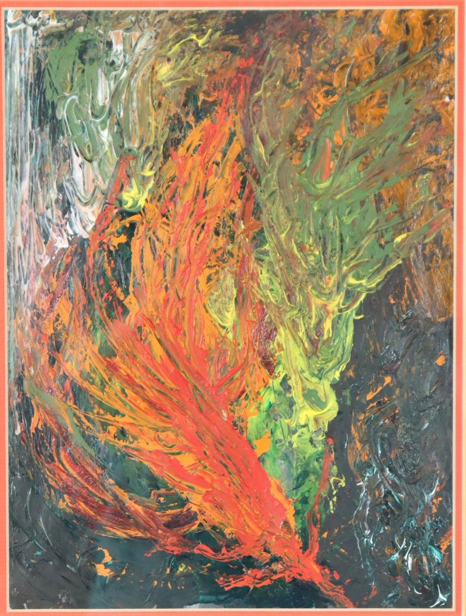 Bill Ross (20th Century) American Abstract - Image 4 of 4