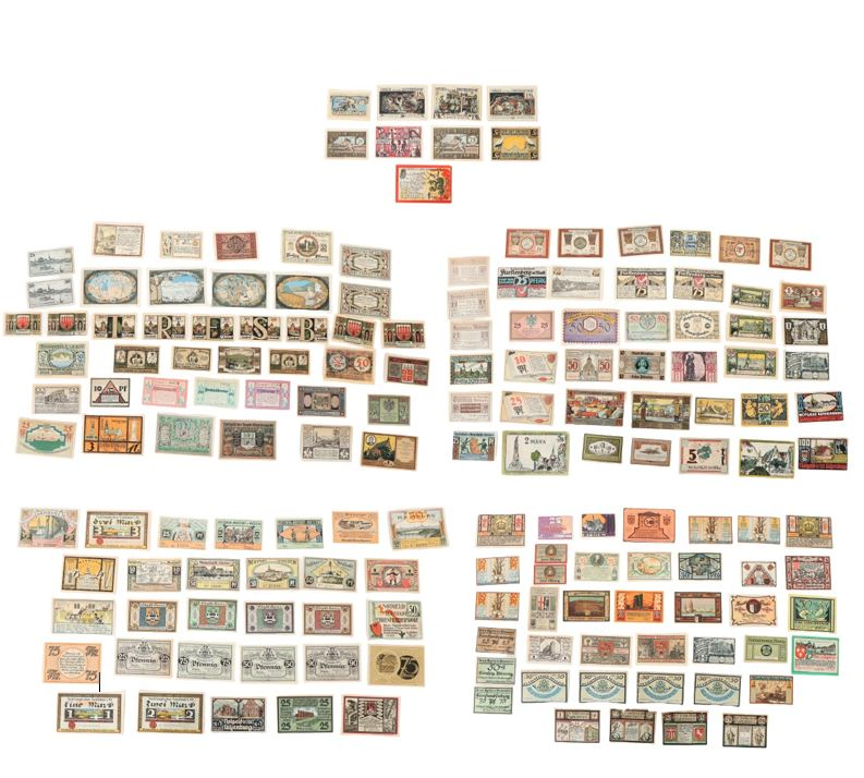 (161) German Banknotes and Notgeld (1922) - Image 2 of 6