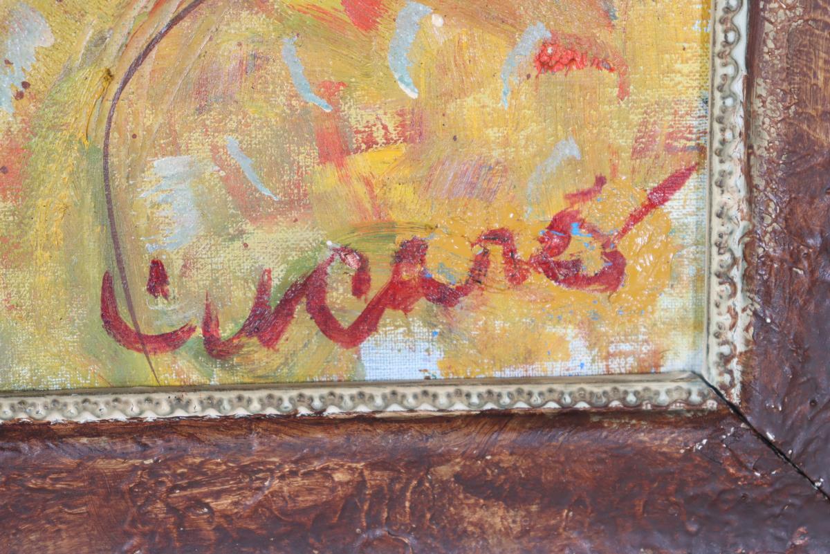 Pascal Cucaro (1915-2004) Amer, Oil/Canvas Board - Image 3 of 4
