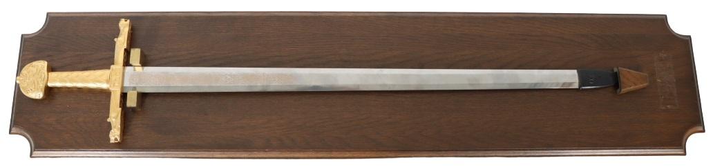 Display Long Sword w/ Gilt handle