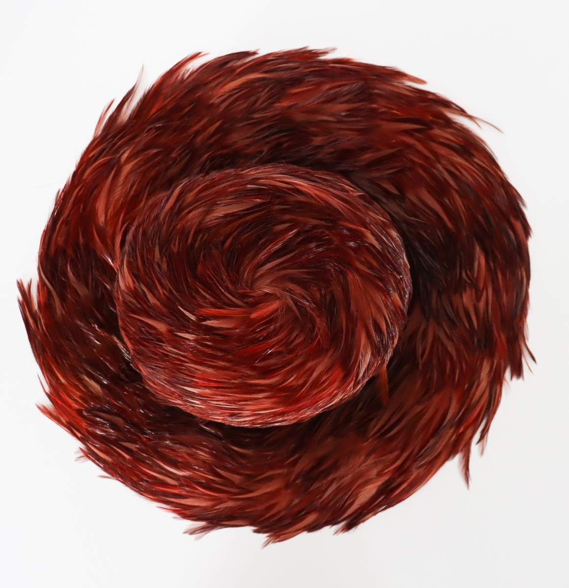 Patricia Underwood Feather Hat - Image 3 of 9