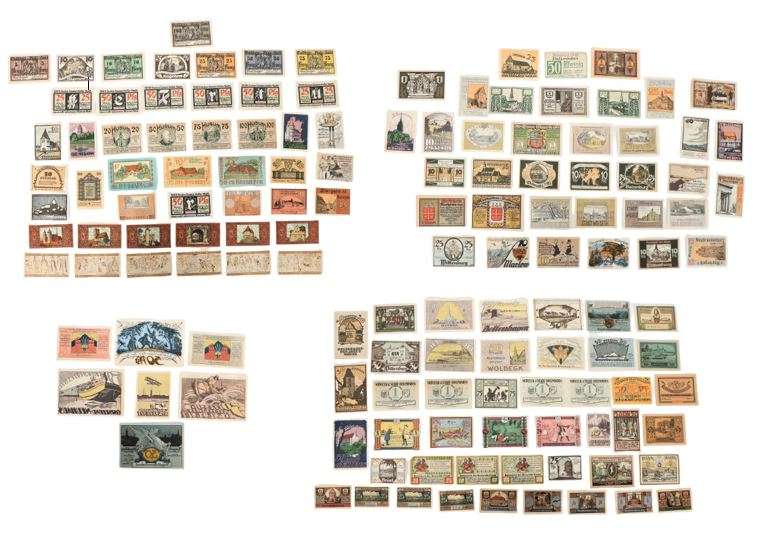 (132) German Banknotes and Notgeld 1922 - Image 2 of 6