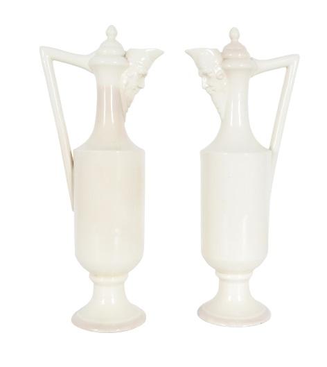 Pair of Ceramic Pitchers