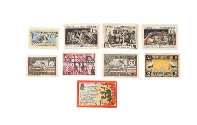 (161) German Banknotes and Notgeld (1922) - Image 3 of 6
