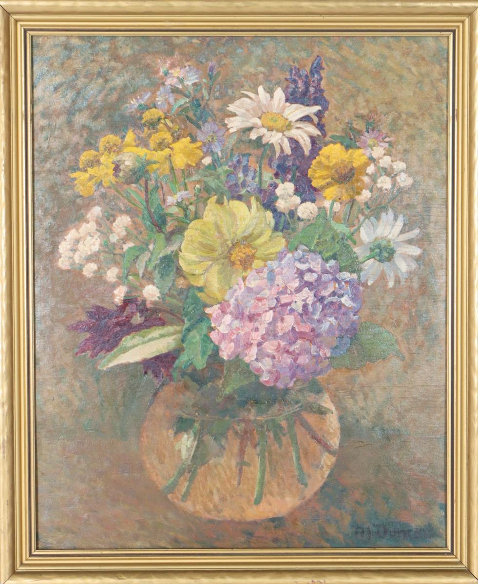 Mary Duncan (English, 1885-1964) Still Life O/C - Image 2 of 4