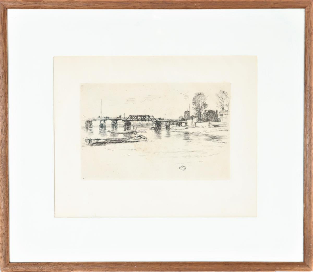James Abbott McNeill Whistler (1834-1903) Etching - Image 2 of 4