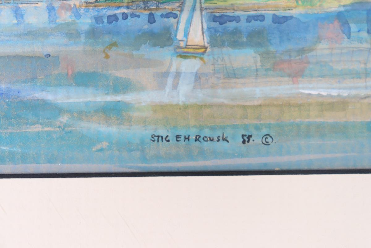 Stig E. H. Rousk (b.1934) Swedish - Image 3 of 4