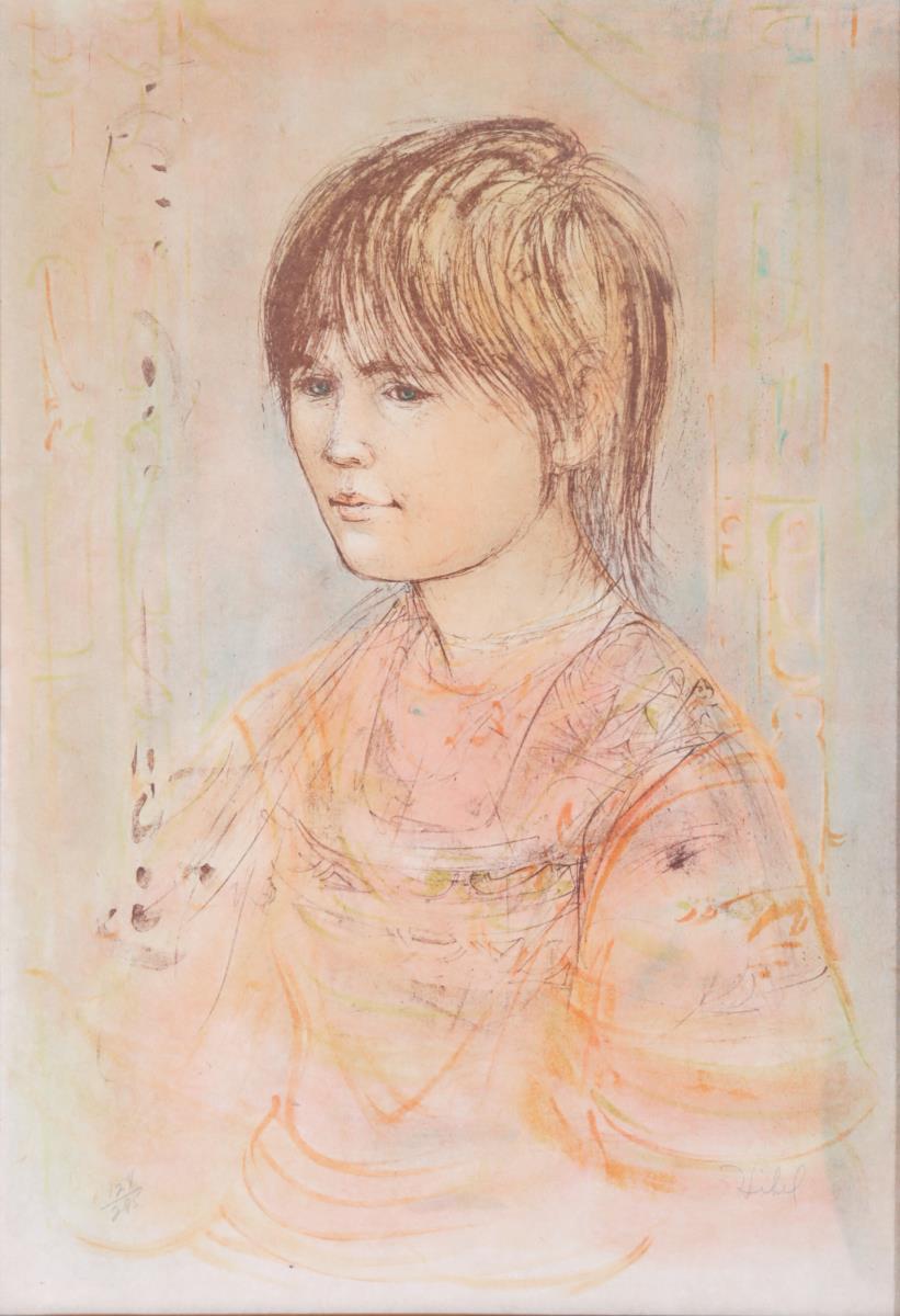 Edna (Hibel) Plotkin (1917 - 2015), Framed Print - Image 3 of 4