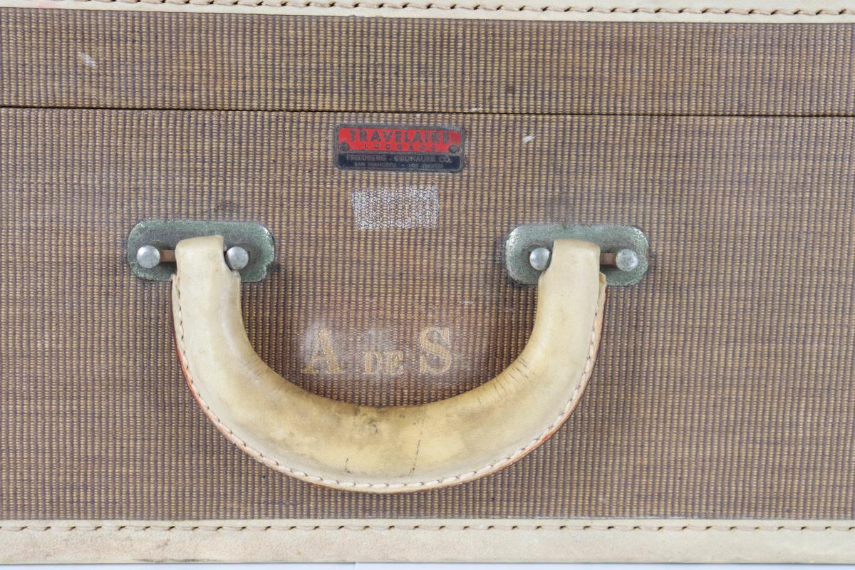 Vintage Retro Suitcase of Anita Lhoest - Image 4 of 18