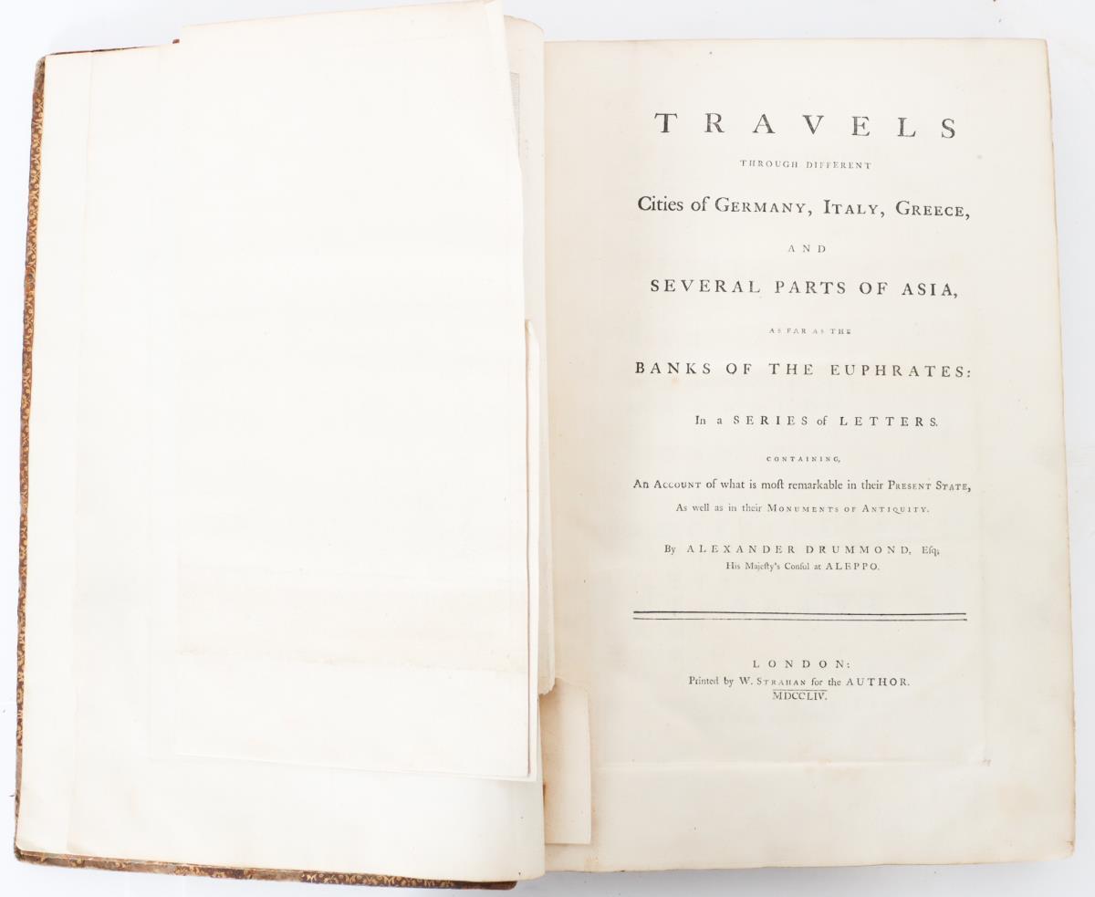 Alexander Drummond's Travels