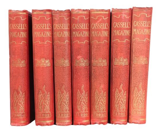 (7) Volumes of Cassell's Magazine 1897-1902