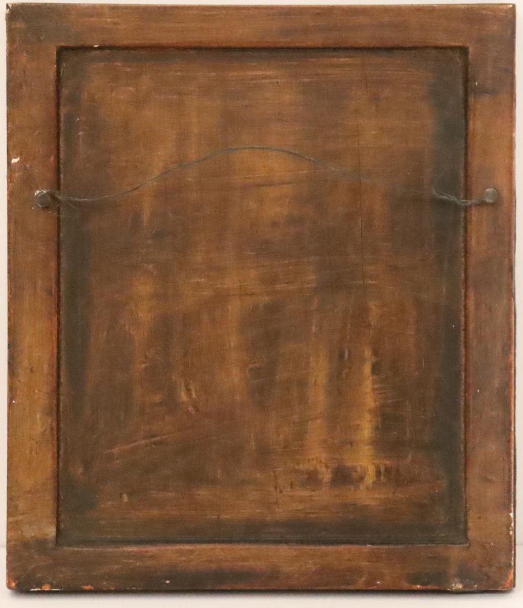 Collection of Four Paintings of Saints on Panel - Image 5 of 9