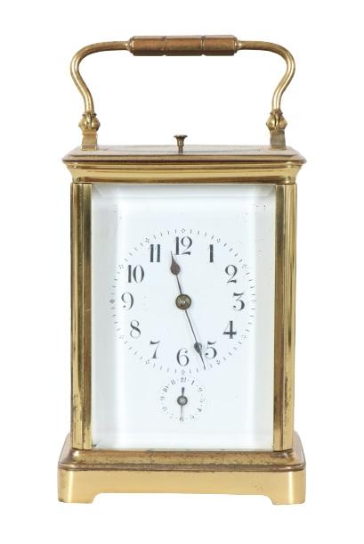 Gilt Mantel Carriage Clock