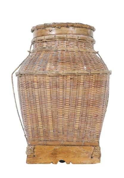 Woven Fishing Basket