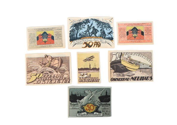 (132) German Banknotes and Notgeld 1922 - Image 4 of 6