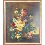 Dutch Still life, Oil on Canvas, Signed