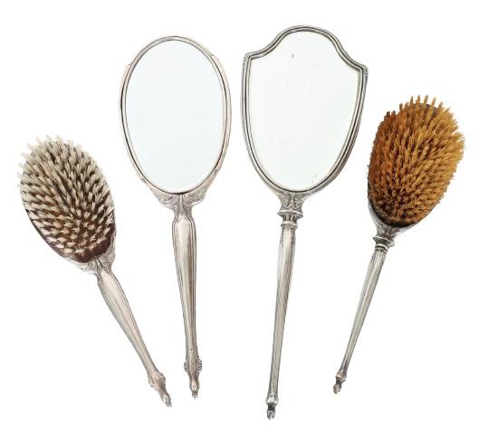 Set of (4) Ladies Sterling Accessories