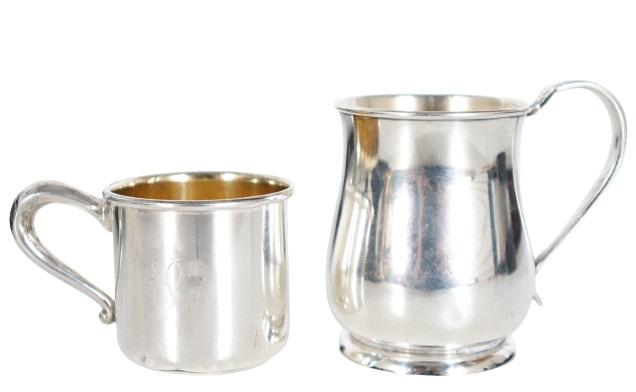 Lunt Sterling Creamer & Web Sterling Cup, 5.4 OZT