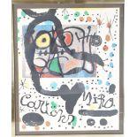 Joan Miro (1893-1983) Spain, Offset Lithograph