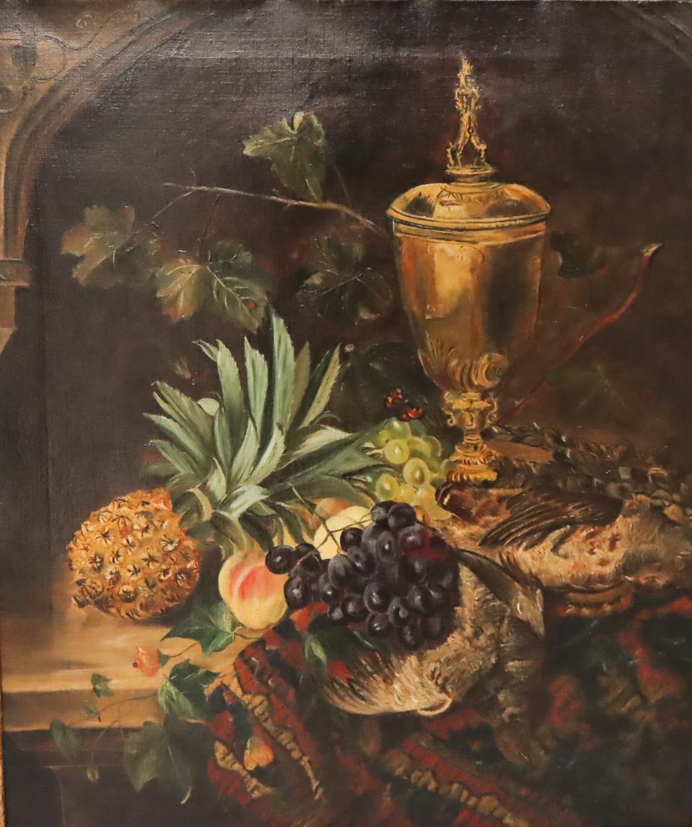 William Hughes (1842 - 1901) UK, Oil on Canvas - Image 3 of 4