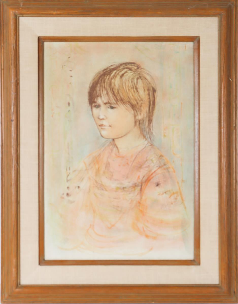 Edna (Hibel) Plotkin (1917 - 2015), Framed Print