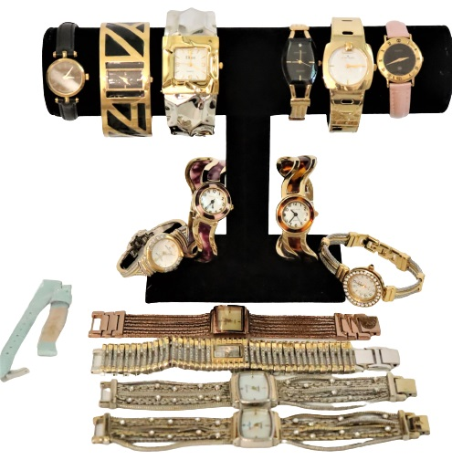 (14) Ladies Watches & (1) Band