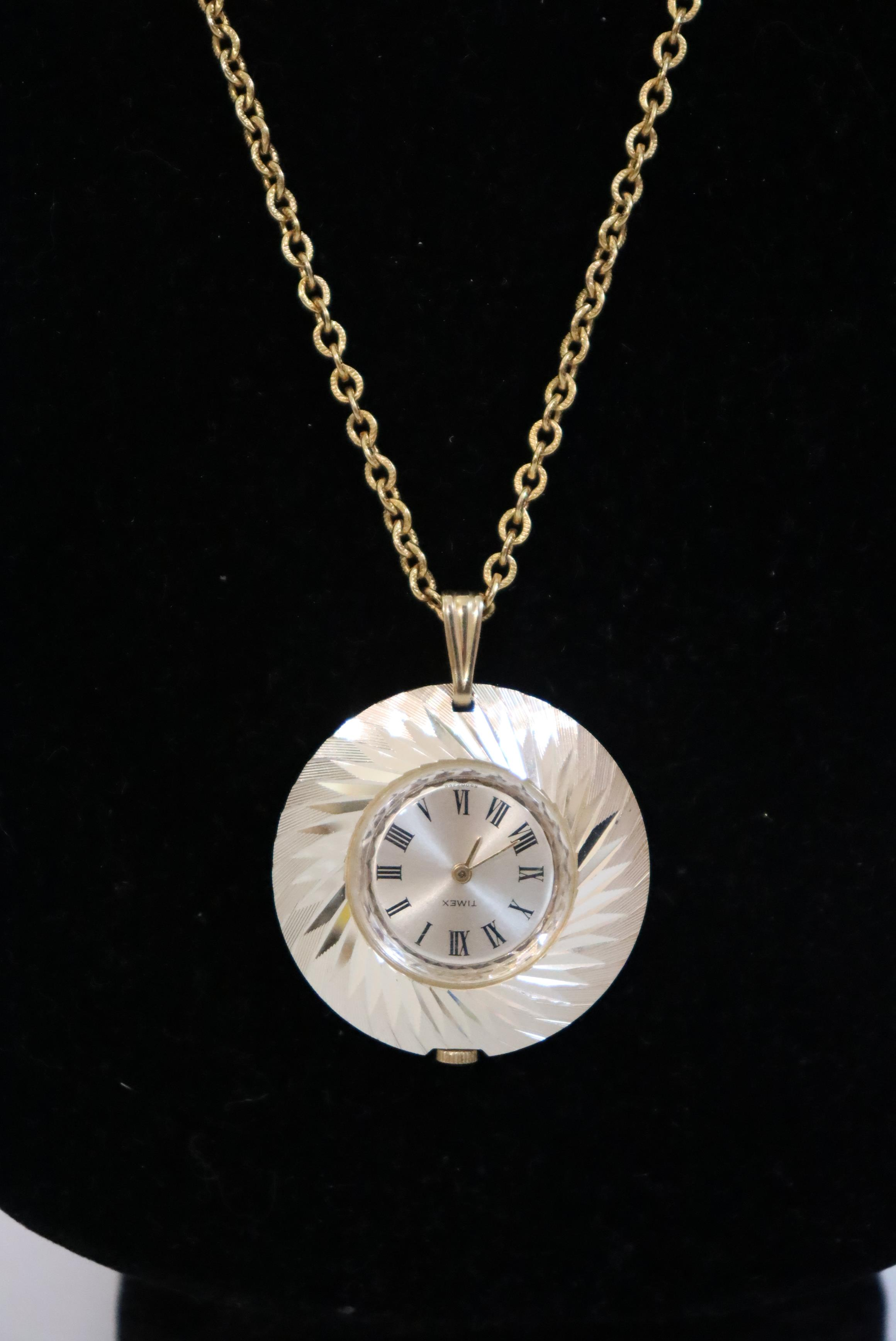 (14) Ladies Watches and (1) Clock Necklace - Image 11 of 14