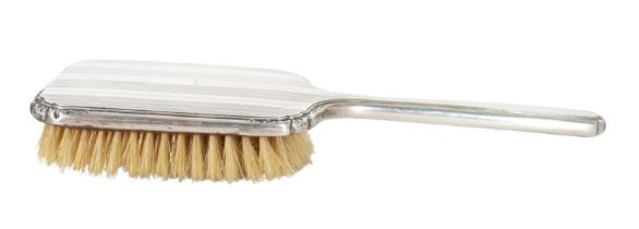 Antique Sterling Silver Hair Brush