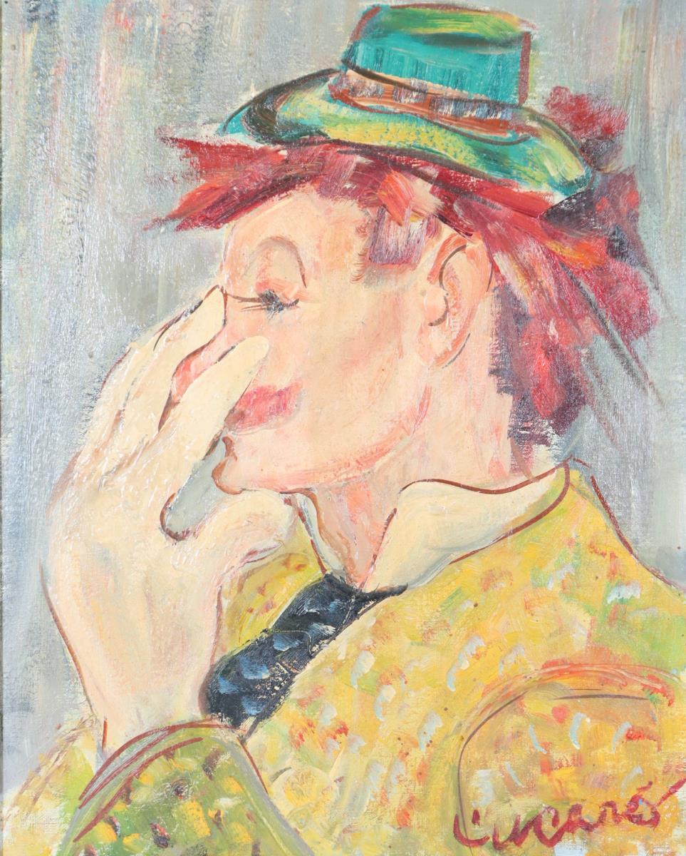 Pascal Cucaro (1915-2004) Amer, Oil/Canvas Board - Image 2 of 4