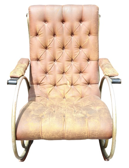 Woodard Tubular Thonet Style Rocking Chair