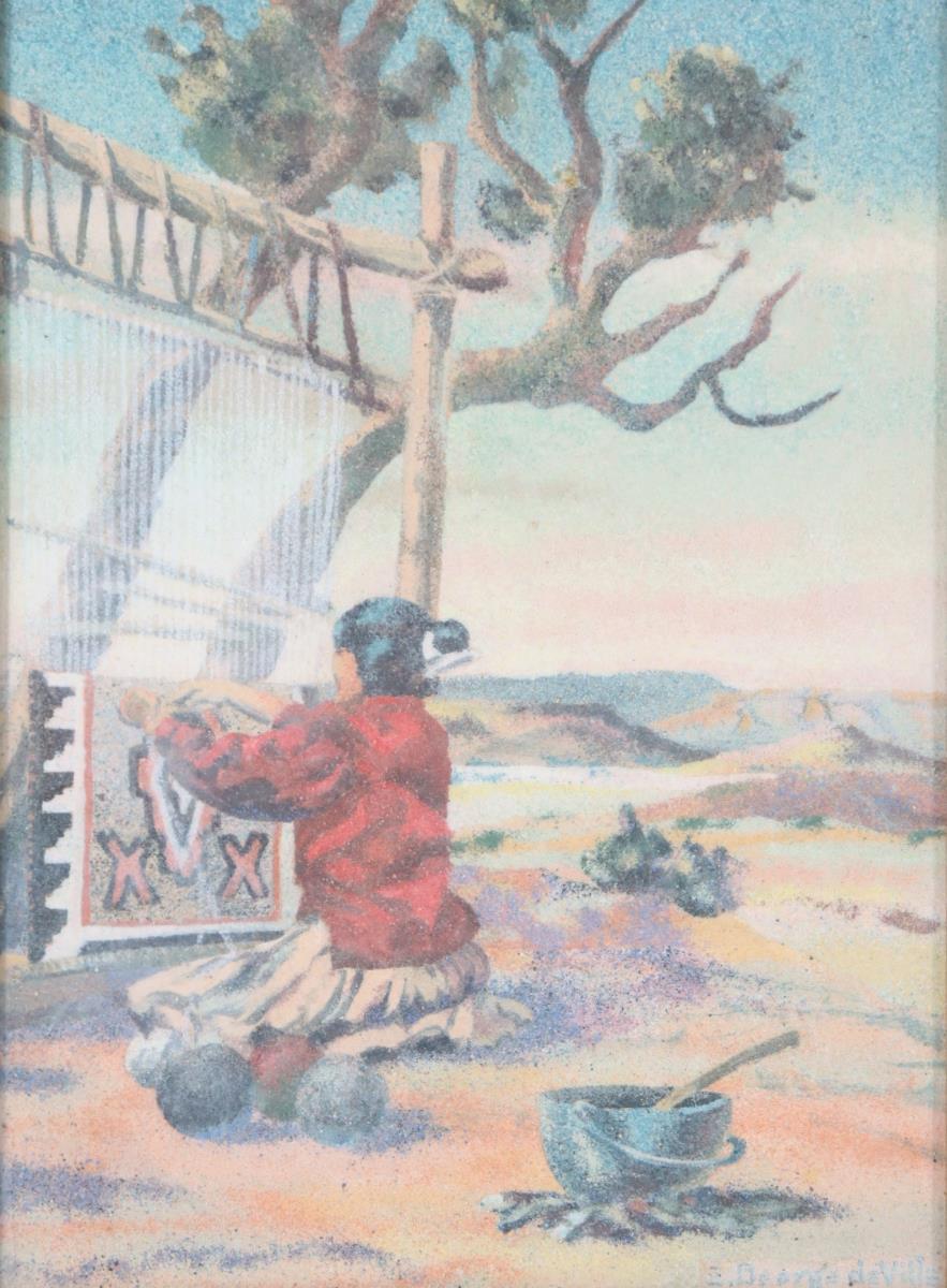 E. George De Ville (1890-1960) American - Image 2 of 4