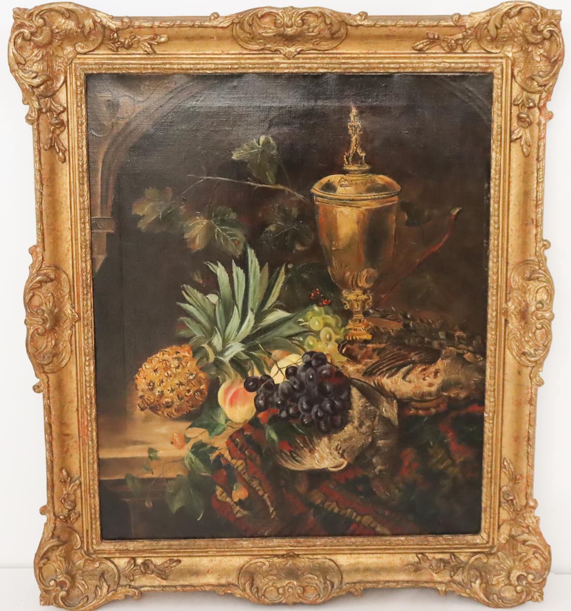 William Hughes (1842 - 1901) UK, Oil on Canvas