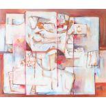 Mansoor Rahi (Born 1939) Pakistan, Oil on Canvas