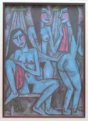 Drei weibliche Akte