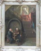 Der Umtrunk im Klosterkeller