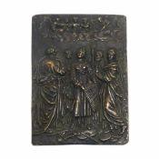 Relief: Die Verzückung der Heiligen Cäcilia