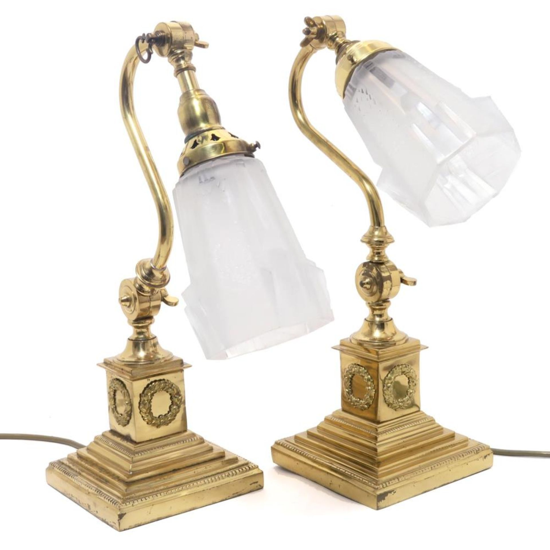 Ein Paar Tischlampen