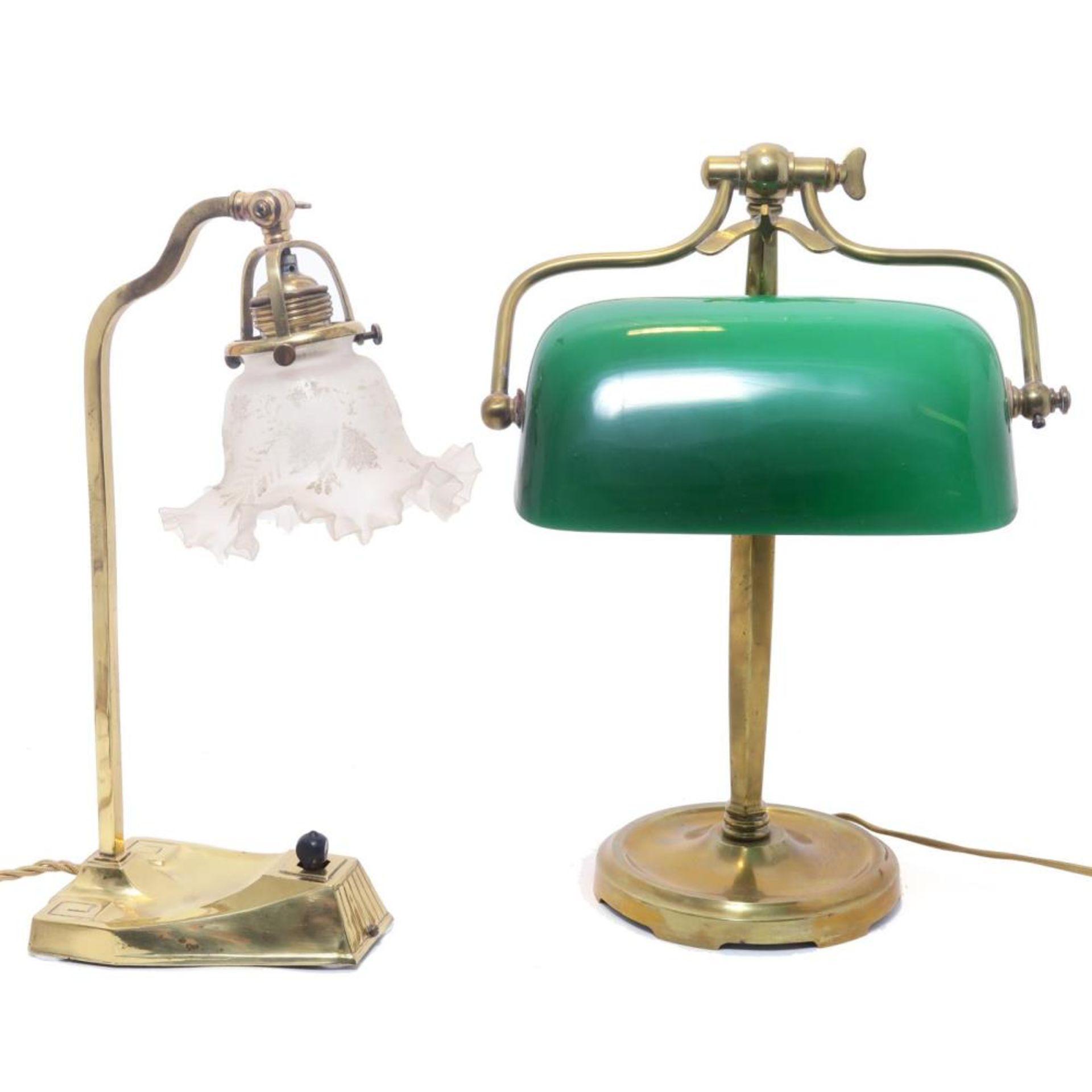 Zwei Tischlampen