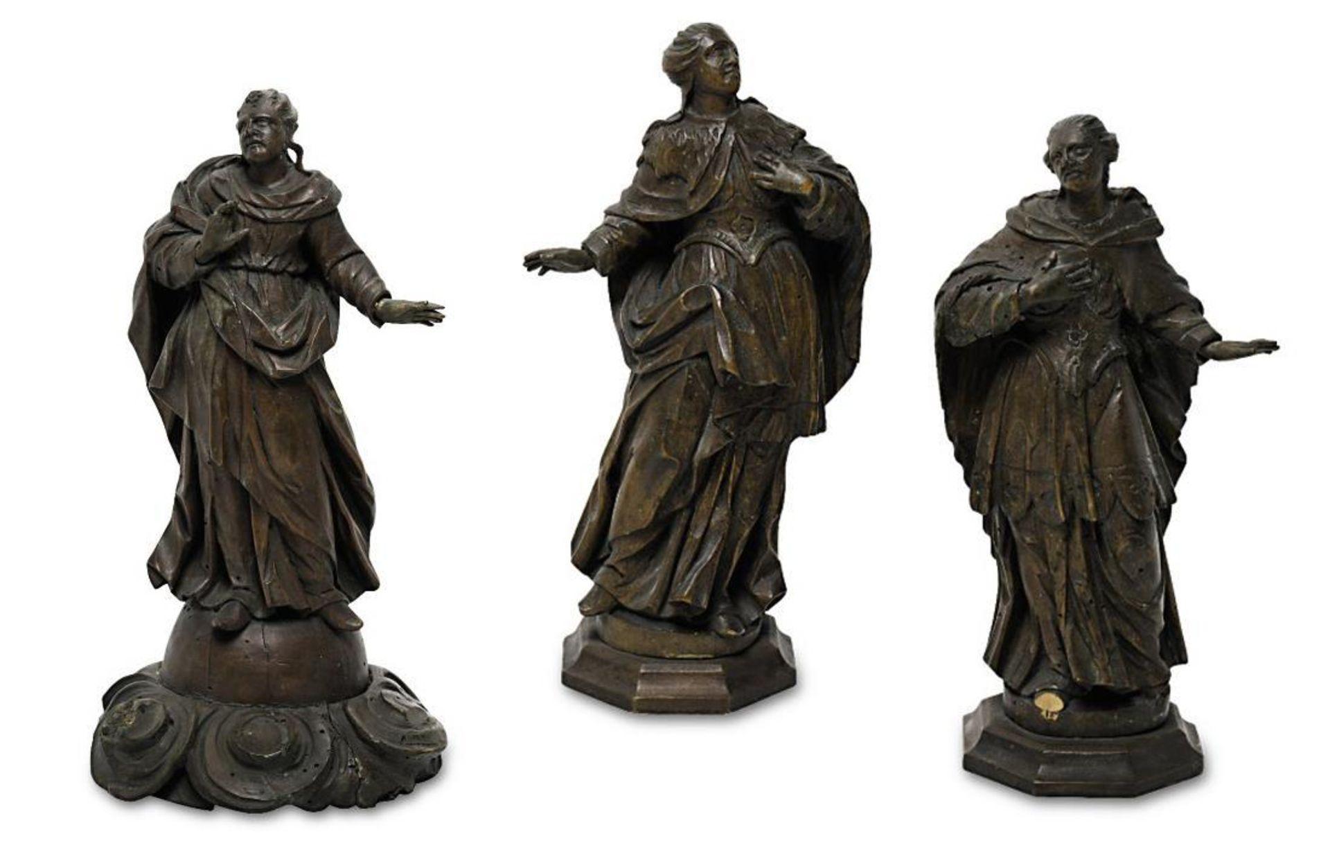 Zwei Heilige / Maria Immaculata