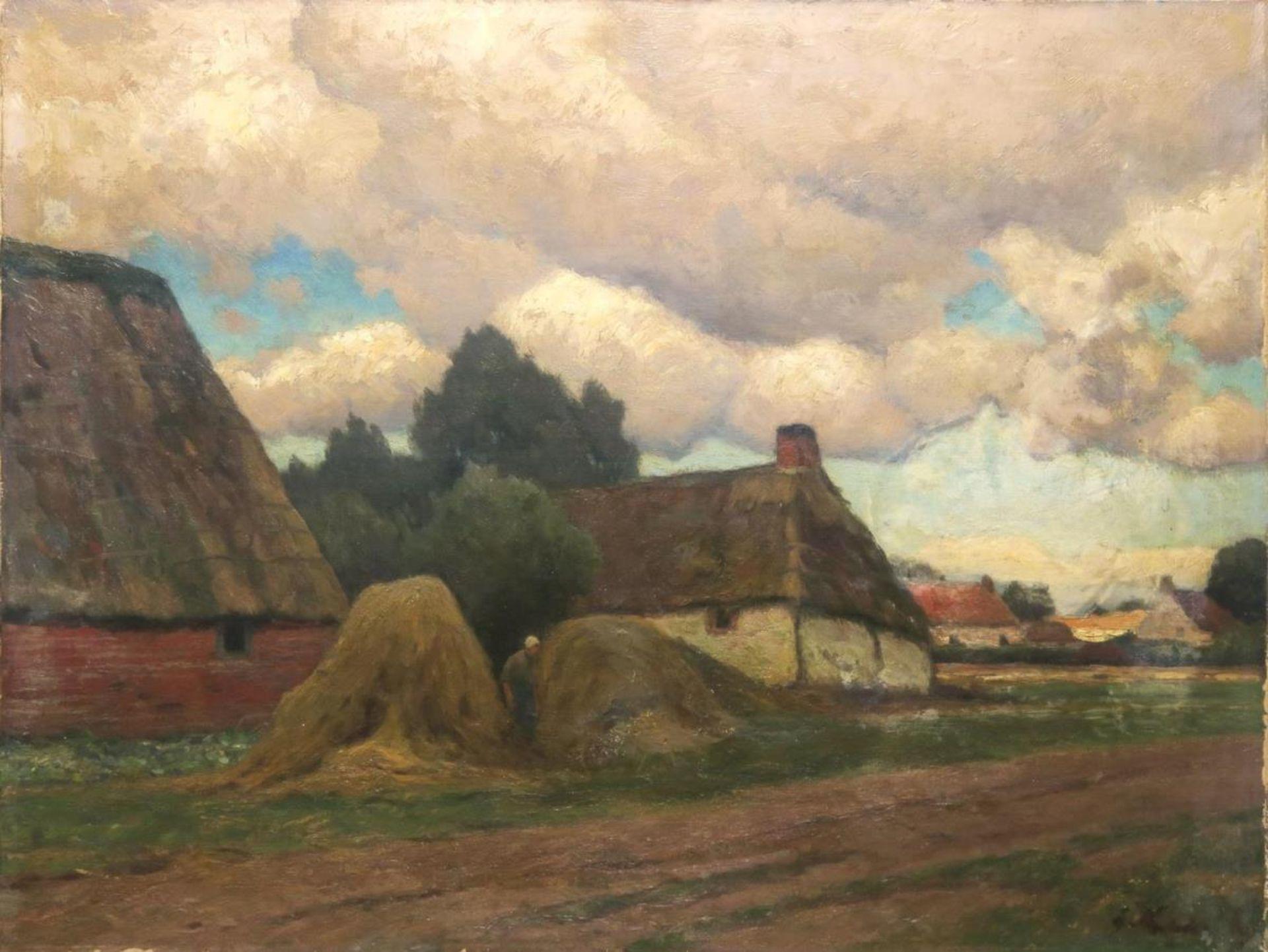 Bäuerliche Dorflandschaft