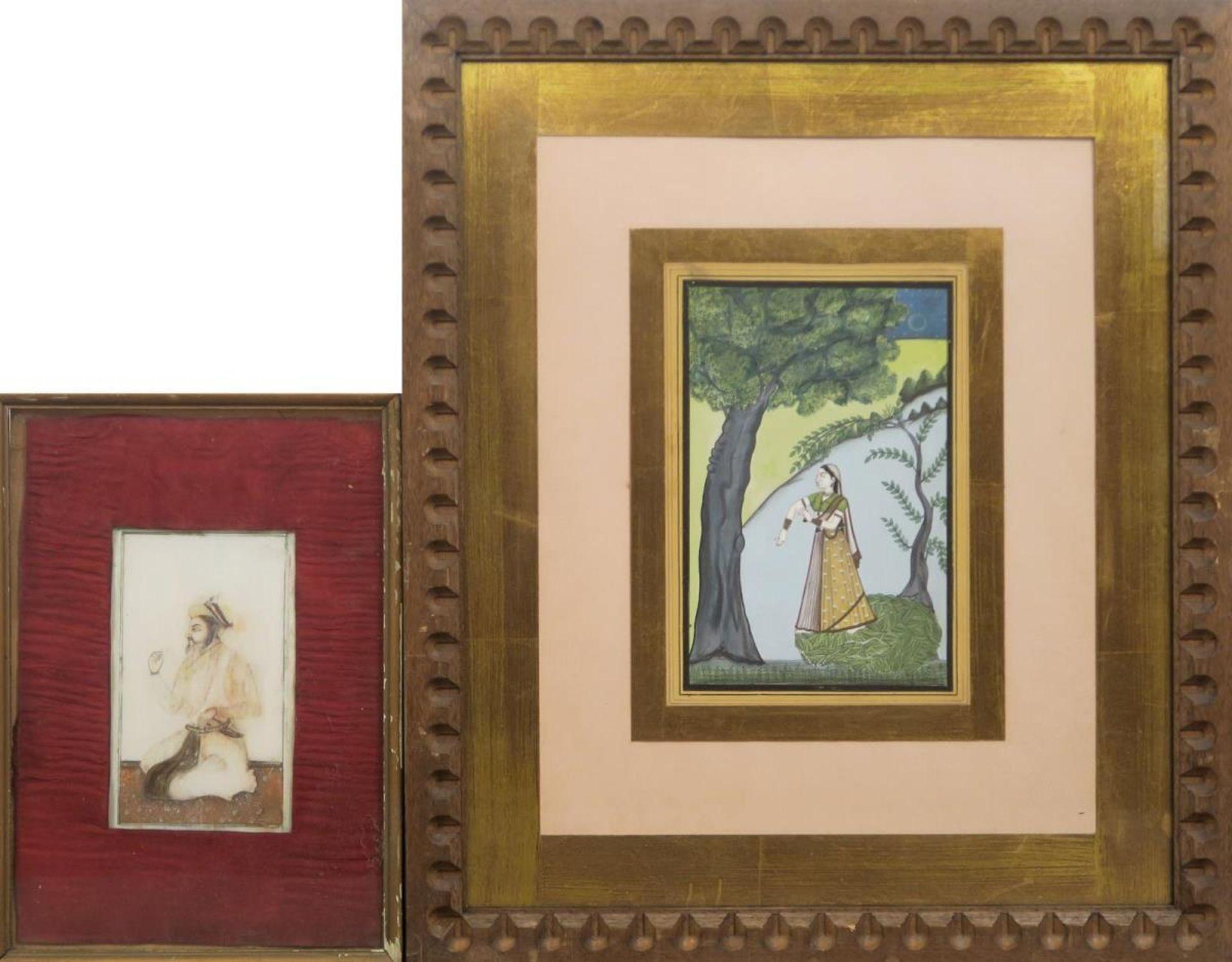 Vier Miniaturen: Schlachtenszenen / Figürliche Darstellungen - Bild 2 aus 3