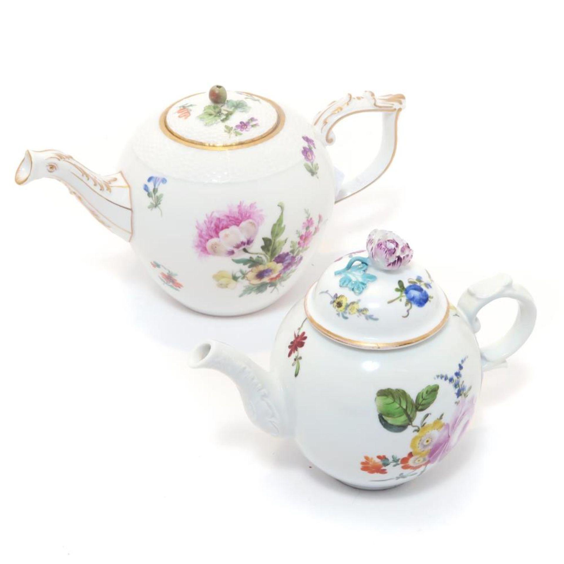 Zwei Teekännchen
