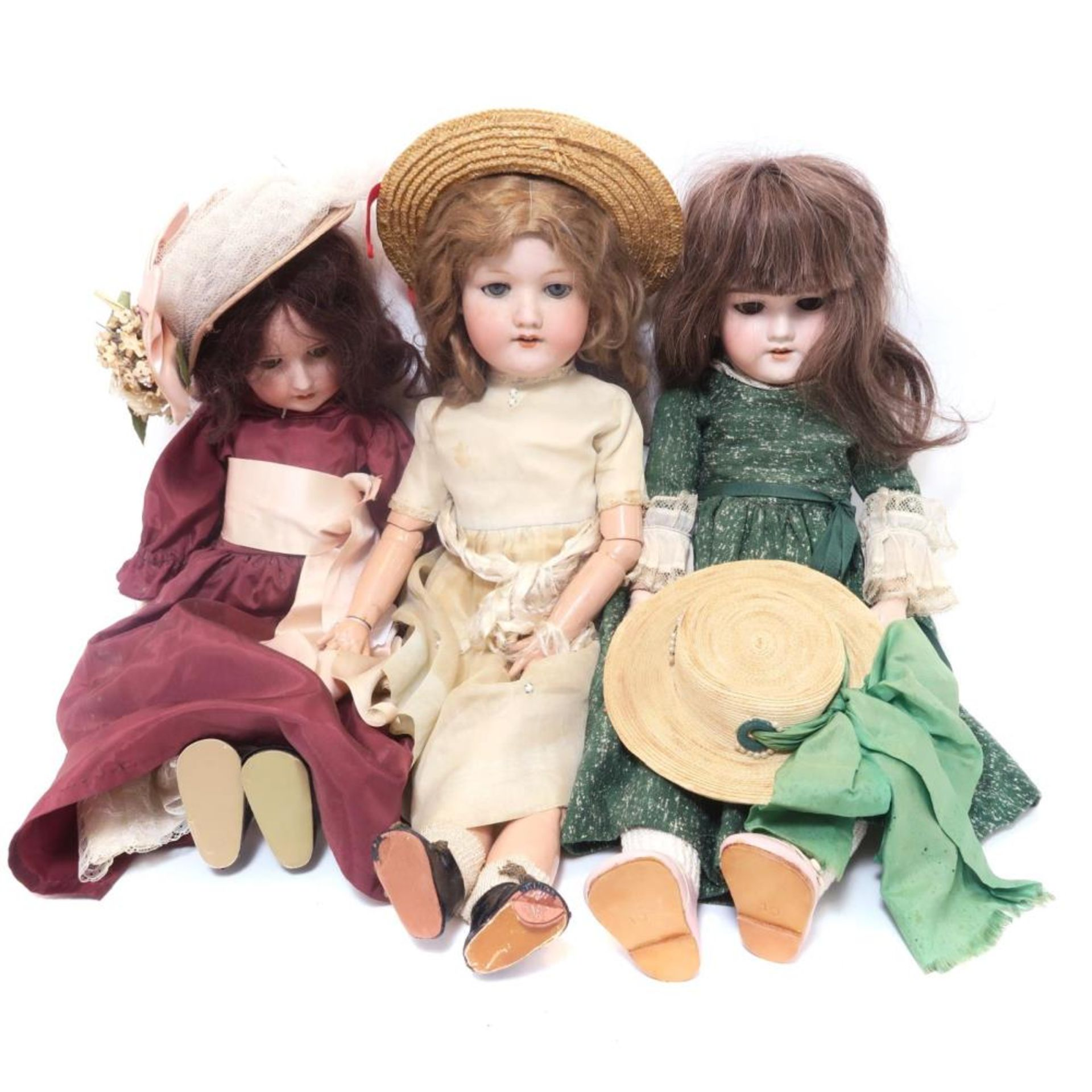 Drei Puppen