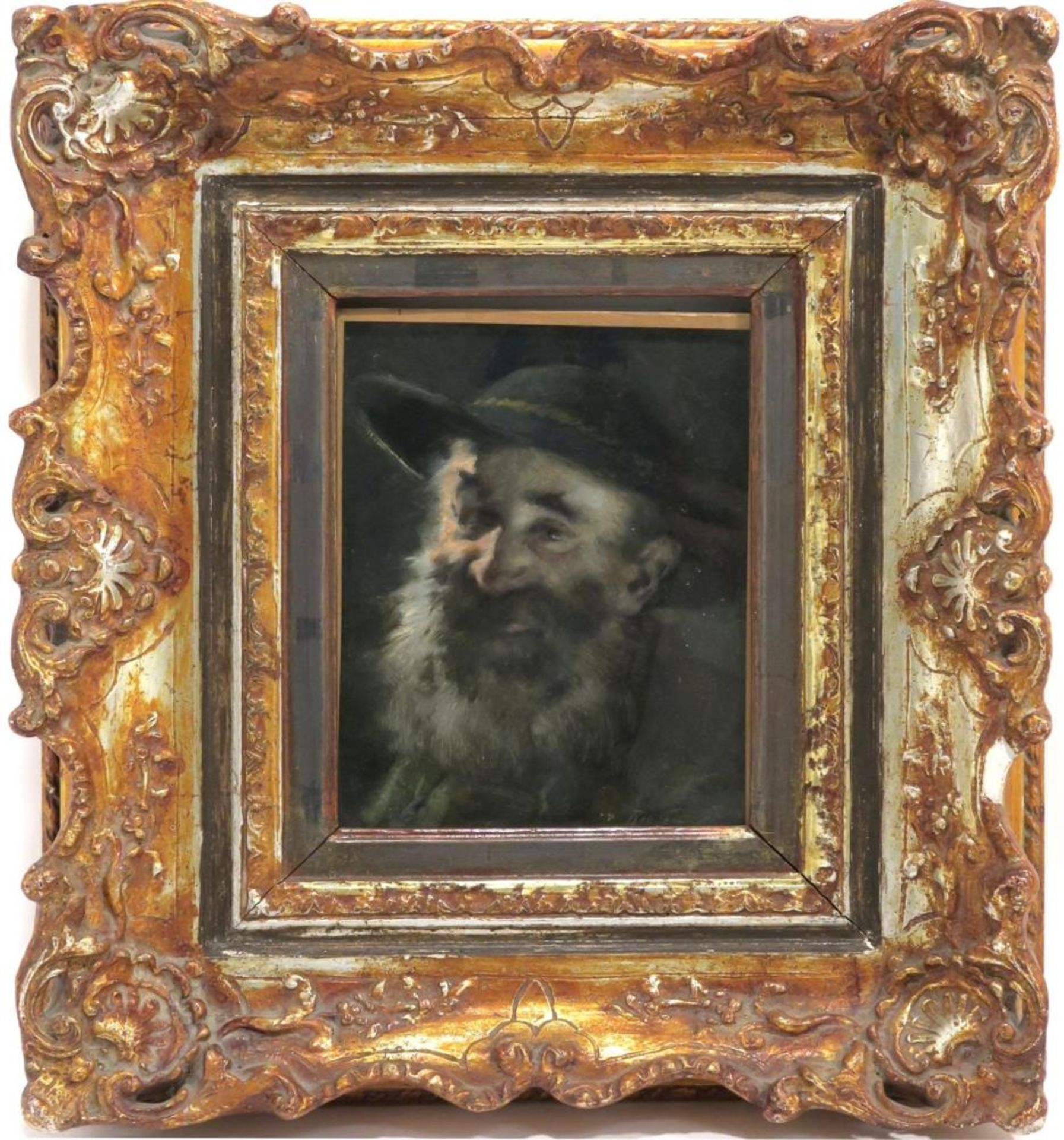 Porträt eines Bärtigen