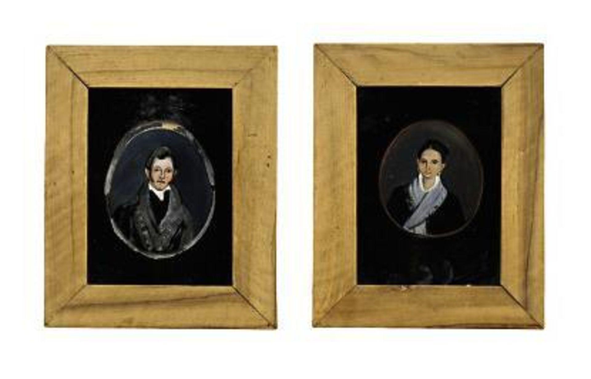 Vier Hinterglasbilder - Bild 2 aus 3