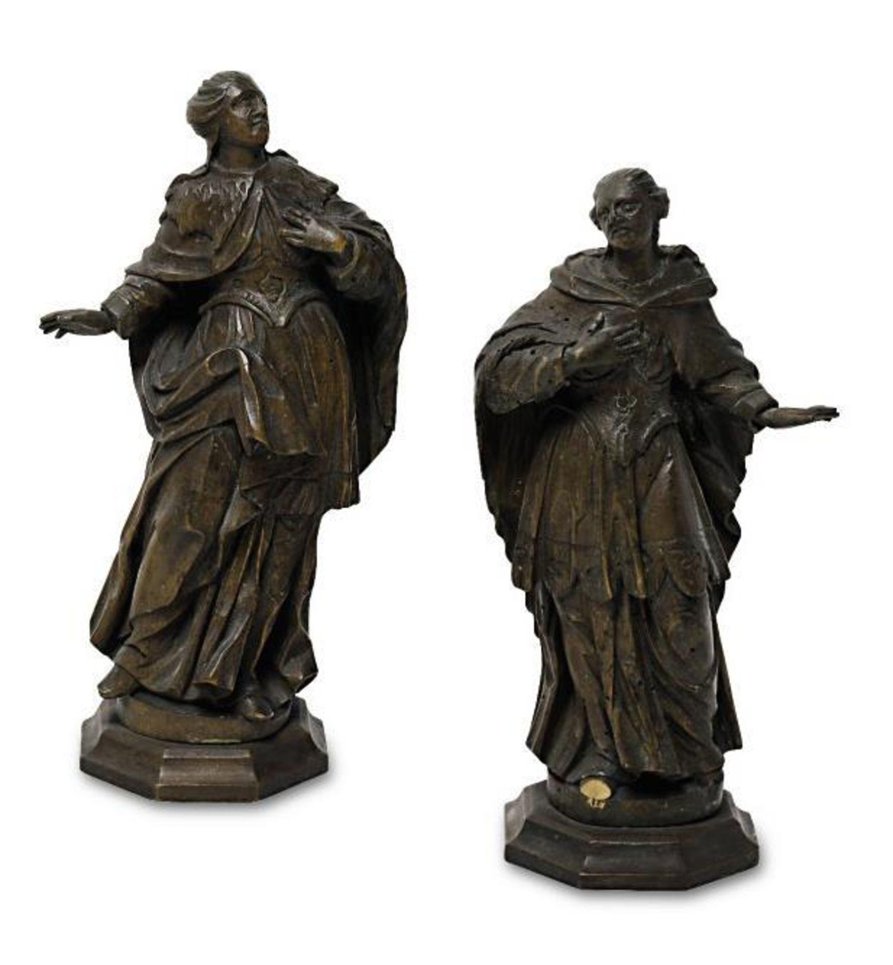 Zwei Heilige / Maria Immaculata - Bild 3 aus 3