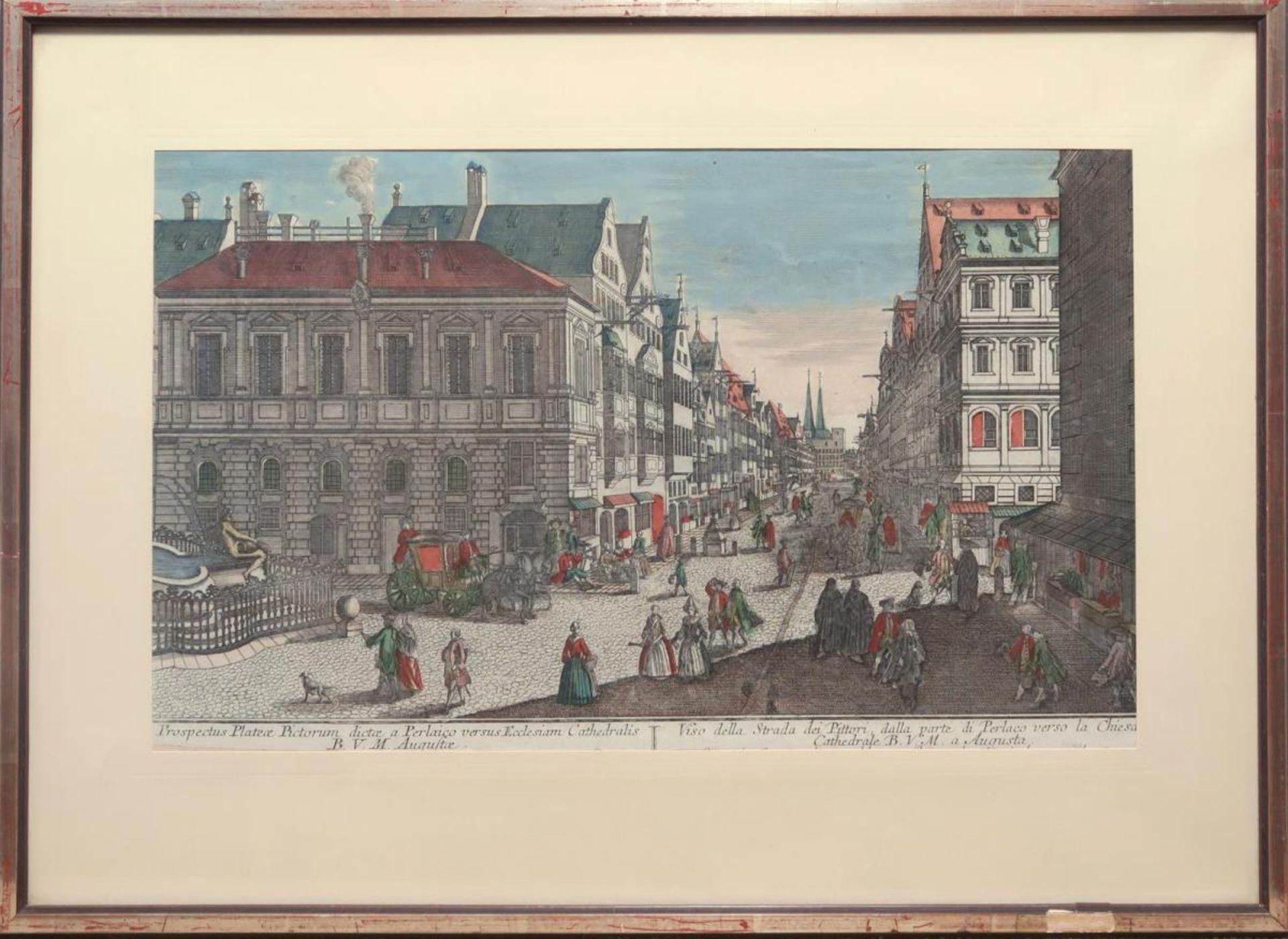 Stadtansicht / Zwei Landschaften / Reiter - Bild 5 aus 5