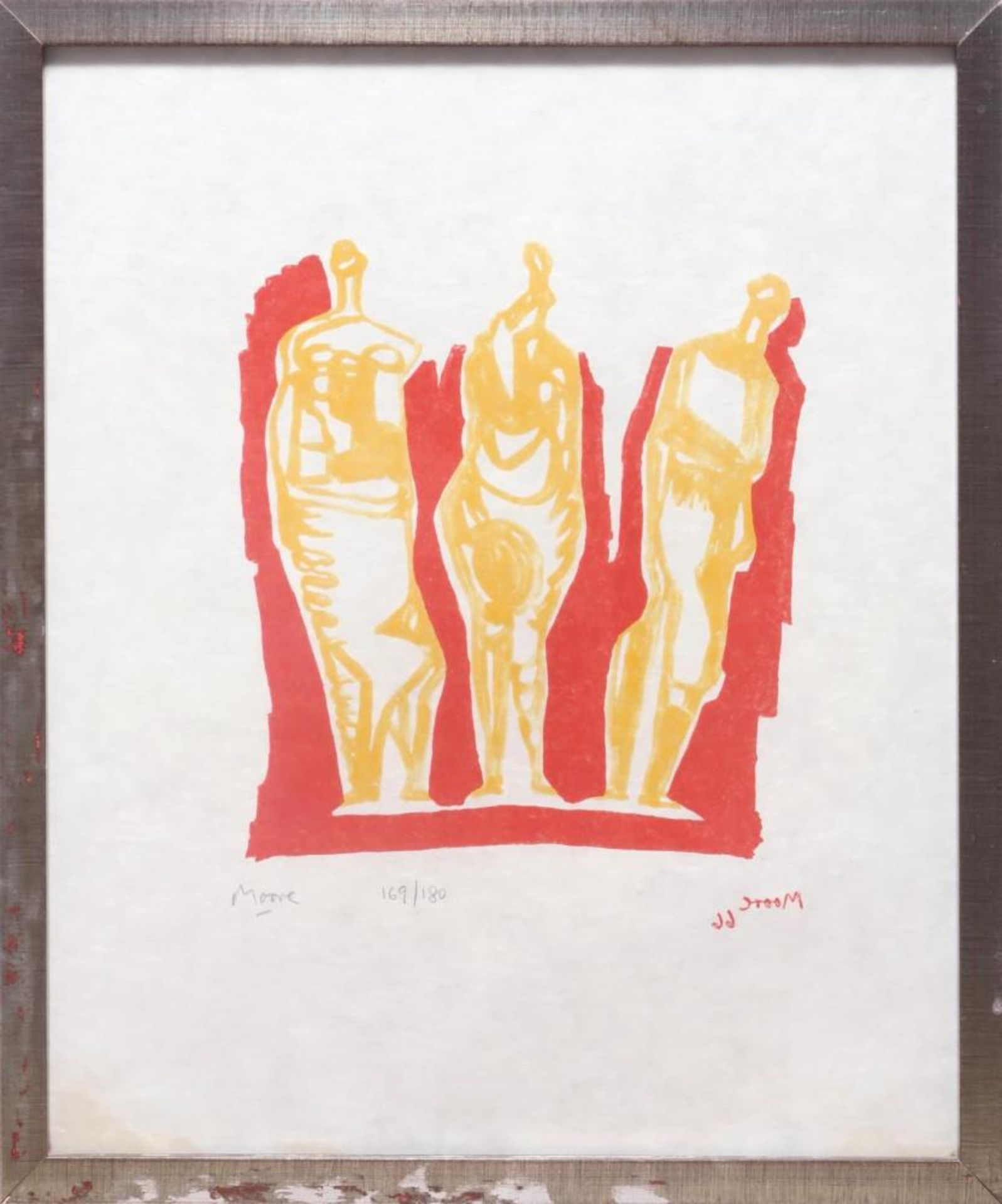 Drei stehende Figuren