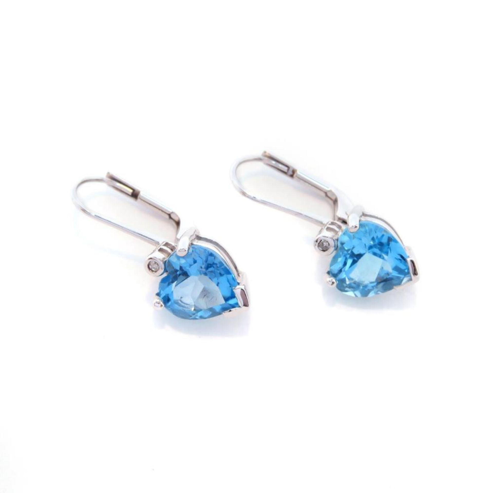 Ein Paar Ohrringe